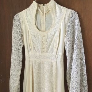 Gunne Sax lace Dress